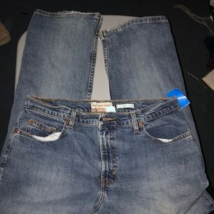 OLD NAVY Boot Cut jeans Size 12 Small Womens Blue